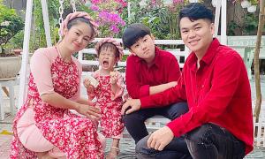 Sao Việt quây quần bên gia đình ngày mùng Một