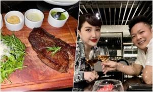 Nhà hàng nơi vợ chồng Bảo Thy tận hưởng ngày Valentine