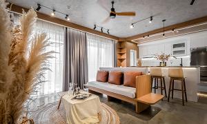 Căn hộ 106 m2 cải tạo gần 1 tỷ đồng của chàng độc thân