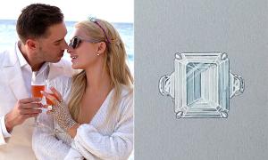 Nhẫn đính hôn 2 triệu USD của Paris Hilton