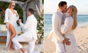Bạn trai quỳ gối cầu hôn Paris Hilton