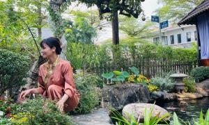 Nhật Kim Anh chăm vườn 420 m2