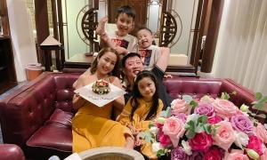 Ốc Thanh Vân nghỉ dưỡng mừng sinh nhật