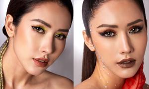 Phan Thu Quyên khoe cá tính với 2 kiểu makeup tone đất