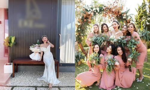 Ảnh hiếm trong ngày cưới của Tóc Tiên