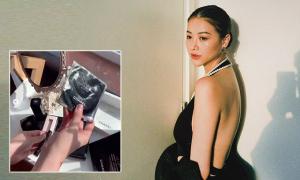 Hoa hậu Phương Khánh dưỡng da trọn bộ đắt đỏ