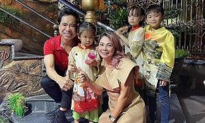Ảnh sao 24/2: Thanh Thảo đến thăm nhà Ngọc Sơn