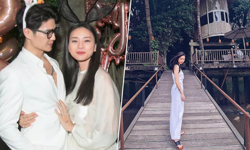 Resort Ngô Thanh Vân đón sinh nhật cùng Huy Trần và bạn thân