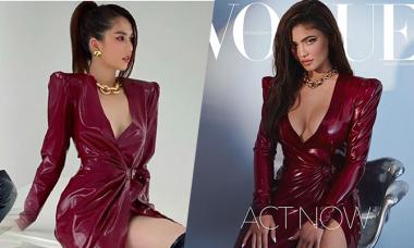 Ngọc Trinh bị nói bắt chước Kylie Jenner