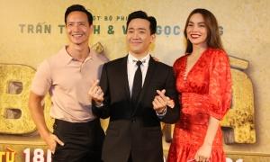 Hồ Ngọc Hà - Kim Lý xem phim 'Bố già'