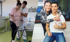 Mẹ C. Ronaldo kể lại phút giây sinh tử vì đột quỵ