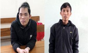 Hai thanh niên bịt miệng phụ nữ, cướp điện thoại