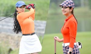 Jenifer Phạm, Thúy Hằng khoe sắc trên sân golf