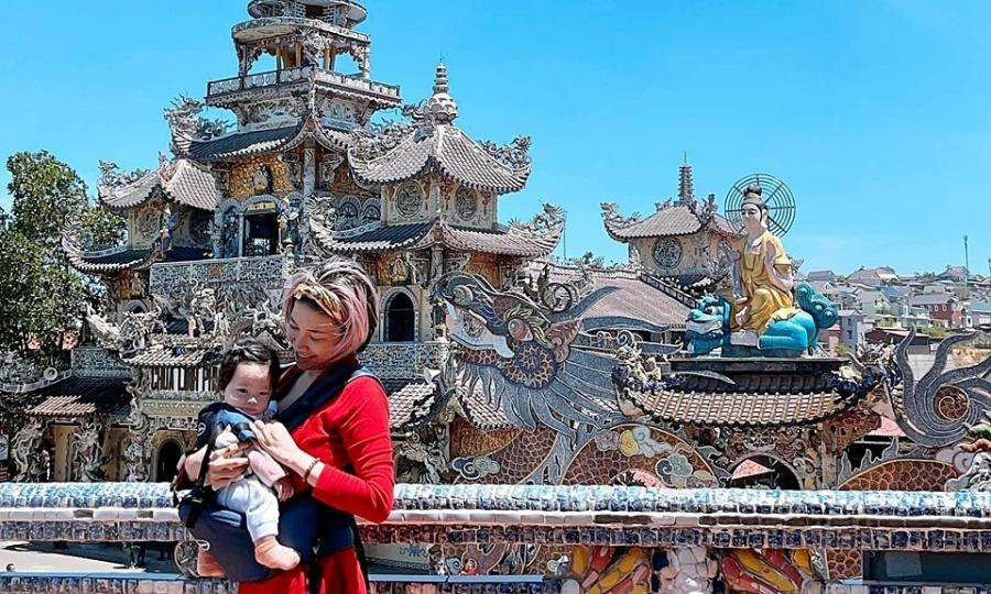 Ngôi chùa ở Đà Lạt nơi Pha Lê cầu con