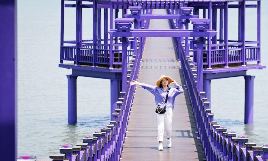 Hòn đảo tím ở Hàn Quốc