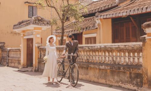 Ảnh cưới 'Lạc lối ở Hội An'