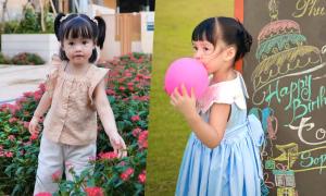 Con gái hoa hậu Đặng Thu Thảo tròn 3 tuổi