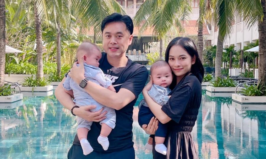 Resort nơi Dương Khắc Linh đón tuổi 41 bên vợ và con sinh đôi