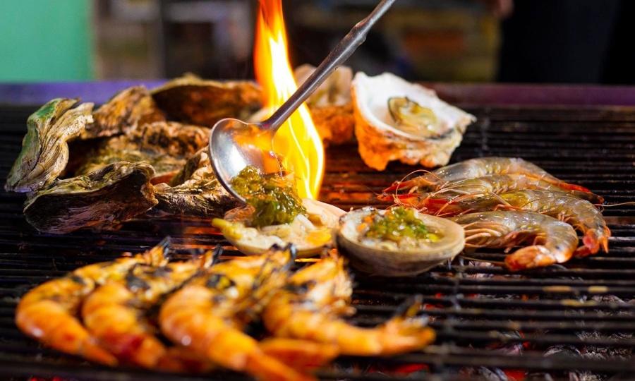 'Thiên đường hải sản' chợ đêm Phú Quốc