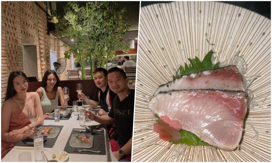 Kỳ Duyên mê cá nướng rơm kiểu Nhật