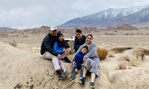Gia đình Hồng Ngọc phượt vùng núi California