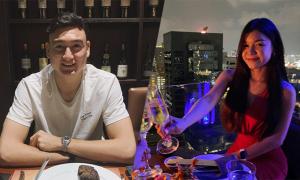 Văn Lâm vui chơi bên bạn gái trước khi sang Nhật