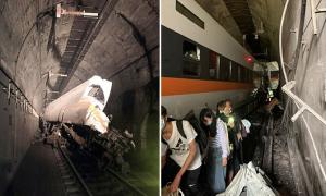 Tàu cao tốc trượt bánh khiến ít nhất 36 người thiệt mạng