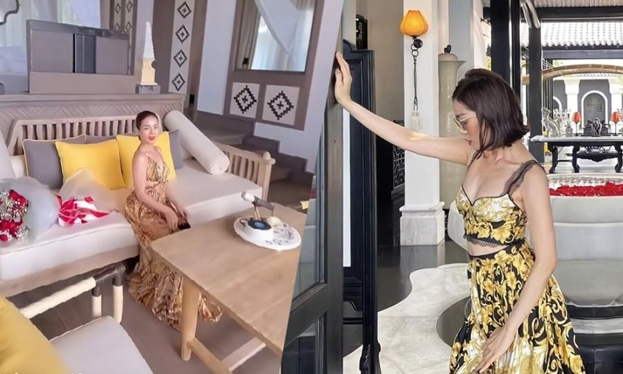 'Room tour' villa 1.000 m2 nơi Lệ Quyên đón tuổi mới bên bạn trai