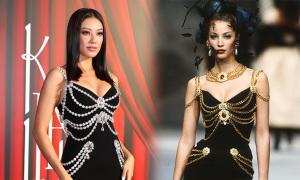 Á hậu Kim Duyên 'sơ suất mặc đầm copy của Chanel'