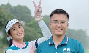 Ảnh sao 12/4: Ngọc Hân và bạn trai chơi golf