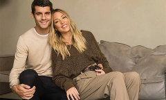 Morata: 'Tôi phải giữ vợ thật chặt'