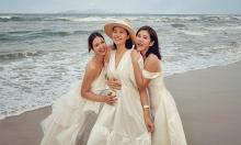 Phanh Lee họp hội bạn thân ở resort nhà chồng