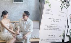 Thiệp cưới Tropical của Phan Mạnh Quỳnh