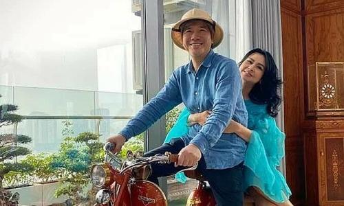 Thanh Lam tận hưởng hạnh phúc bên bạn trai