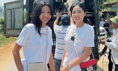 Kỳ Duyên - Minh Triệu trở lại miền Trung làm từ thiện