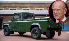 Hoàng thân Philip dành 16 năm tự thiết kế xe tang
