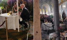 Vợ chồng Trump đi ăn tối