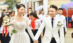 Vợ Phan Mạnh Quỳnh diện váy cưới hơn 87 triệu đồng