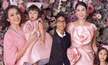 Ngọc Khánh về nước, dự sinh nhật con gái Đỗ Mạnh Cường