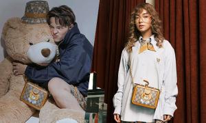 Fashionista Việt lăng xê túi gấu
