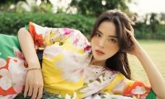 Hoa hậu Kỳ Duyên khoe nhan sắc ngọt ngào