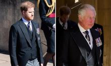 Harry viết thư gửi Thái tử Charles trước đám tang ông nội