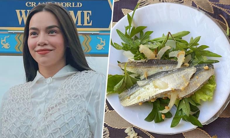 Hồ Ngọc Hà mê món gỏi cá trích ở Phú Quốc