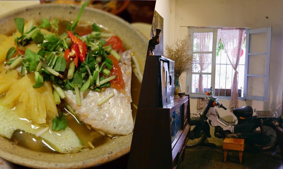Tiệm cơm trong căn nhà cấp 4 hút khách ở Đà Lạt
