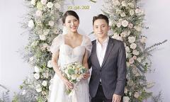Áo dài, váy cưới gần 130 triệu đồng của vợ Phan Mạnh Quỳnh