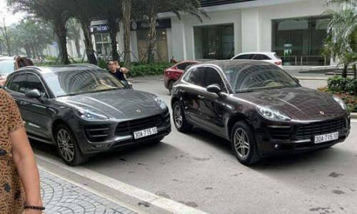 Truy tìm chủ xe Porsche biển giả