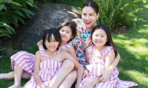Hoa hậu Phương Lê cho con gái học võ để tránh kẻ xấu