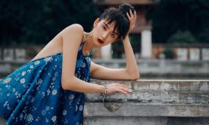 Trang phục vải gấm cho mùa hè của Thủy Nguyễn