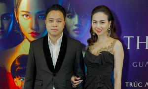 Victor Vũ - Đinh Ngọc Diệp tình tứ trên thảm đỏ