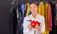 Khánh Vân hé lộ trang phục mang đi thi Miss Universe